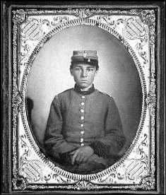 Portrait of Pvt. Edwin Francis Jemison