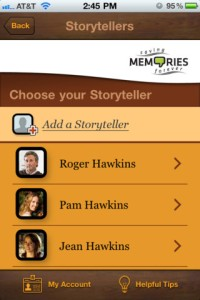 Saving Memories Forever iPhone App