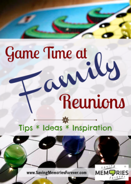 Games for Your Family Reuinion
