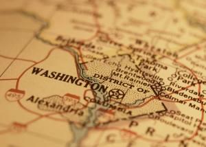WA DC Map