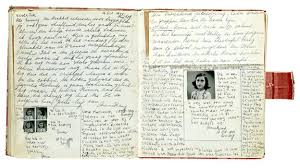 anne frank diary picture